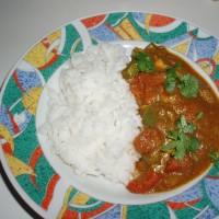 Kuřecí korai s rýží