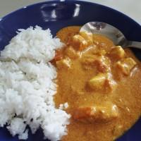 Kuřecí tikka masala s basmati rýží